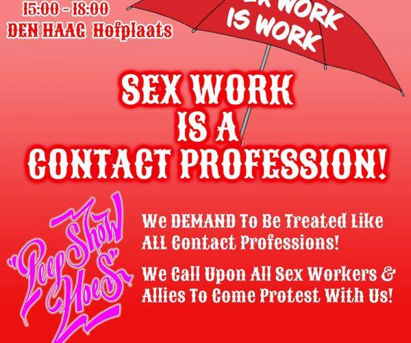 Sekswerkers eisen gelijke behandeling met andere contactberoepen